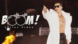 Mohamed Ramadan - BOOM [ Lyrics Video ] / محمد رمضان - أغنية بوم