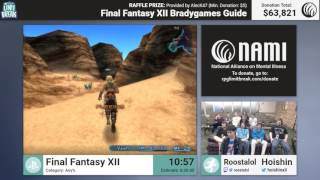 Final Fantasy XII by Roostalol and Hoishin (RPG Limit Break 2017 Part 37)