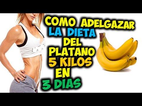 LA DIETA Del Platano | PARA ADELGAZAR 5 Kilos, En 3 Dias | Perder Peso!!!