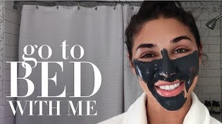 Model Chantel Jeffries' Nighttime Skin Care Routine | Go to Bed With Me | Harper's BAZAAR