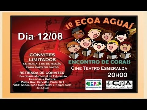 PREFEITURA DE AGUAÍ REALIZA FESTA DE ANIVERSÁRIO DA CIDADE