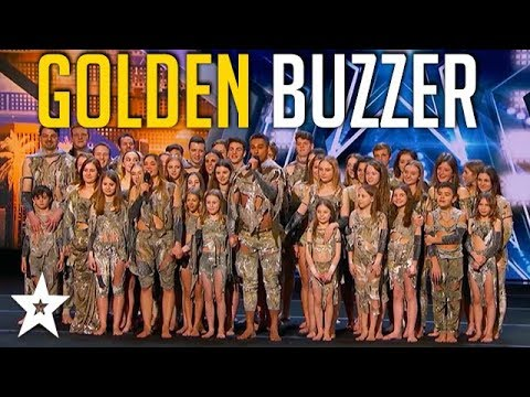 Sensational Dance Crew Get Tyra Banks GOLDEN BUZZER on Americas Got Talent  Got Talent Global
