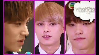 ?When Jun&The8 Speak Chinese [Seventeen]?