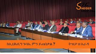 Ethiopia:-   What can we expect from EPRDF's General Assembly ?