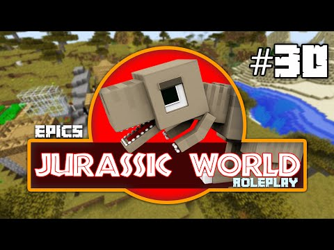 """EPiC'S Jurassic World: MINECRAFT DINOSAURS """"OOPS! IT WAS AN ACCIDENT!!"""" [Minecraft Roleplay] #30"""