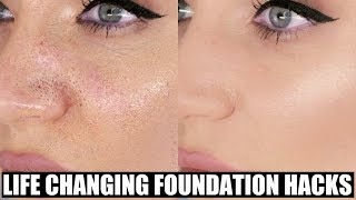 Foundation Hacks That Will Change Your LIFE! Foundation Do's and Don'ts