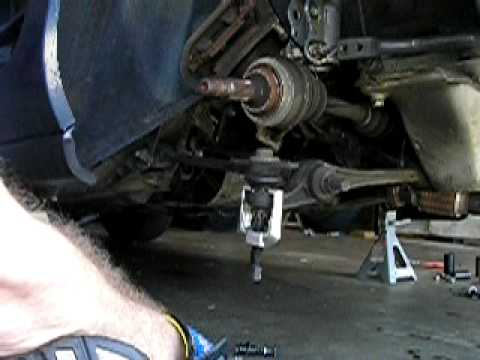 92 MR2 Rear Ball Joint Removal