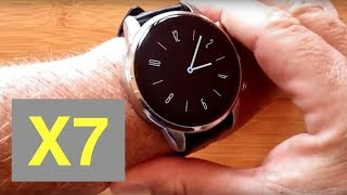 FINOW X7 4G Android 7.1.1 Always Time Display Smartwatch: Unboxing and 1st Look