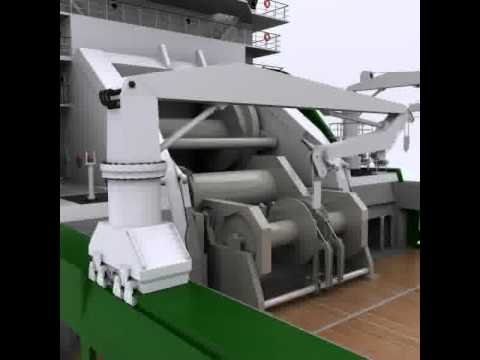3D Model of Anchor Handling Tug Supply 02