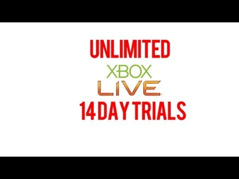 Free Xbox LIVE Gold Memberships - Unlimited Xbox Live 14 Day Trials *Tutorial!*