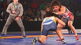 PWL 2017: Sarita VS Sakshi Malik 13th Jan | Mumbai Maharathi Vs Colors Delhi Sultans