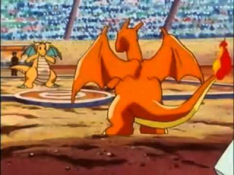 YouTube - Charizard vs Entei_ Poliwrath_ Dragonite & Magmar.flv