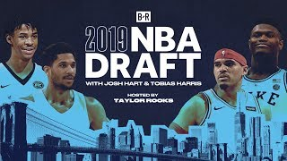 Josh Hart, Tobias Harris Join Taylor Rooks on B/R NBA Draft Show