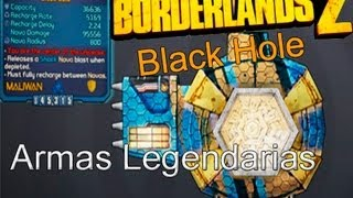 Borderlands 2: Escudo Legendario (Black Hole)