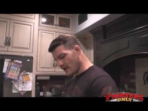 Michael Bisping talks Nick Diaz Machida eye injury steaks