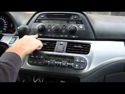 How to use GTA Car Kit for Honda Odyssey 2005-2010 with iPhone iPod mp3