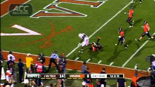 Va Tech vs Virginia_  2011 ACC Football Highlights