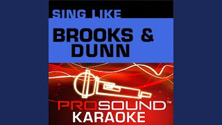 Only In America Karaoke Instrumental Track In The Style Of Brooks And Dunn