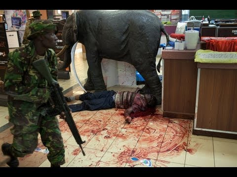 Inside The Kenya Mall Terror Attack, Disturbing Video (suitable Only For 18+) video