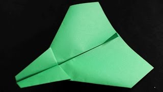 How to make a cool paper plane origami: instruction| Goofy