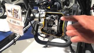 Tìm hiểu công nghệ Van Biến Thiên VVA (Variable Valve Actuation) trên Yamaha NM-X