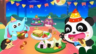 Baby Panda's Forest Feast - Party Fun | Cooking Game | Kids Games | Gameplay Video | BabyBus