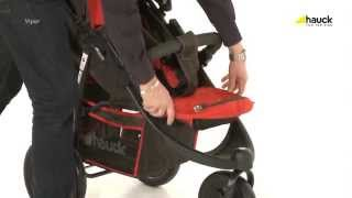 Hauck Viper Pushchair - How To Fold Demonstration | BabySecurity