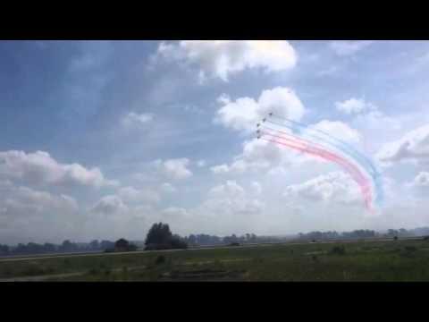 Red Arrows στην Ανδραβίδα 2015