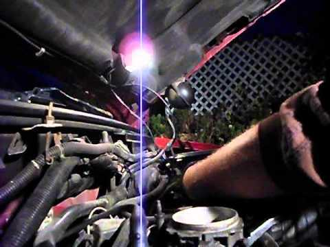 1997 Chevy Blazer 4.3L Vortec Throttle Body cleaning part 2 of 3