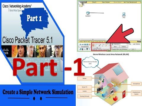 How to Connect PC with CISCO  Packet Tracer 7.1.1 //computer network//part -1//download//tutorial//