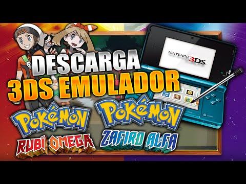 DESCARGAR EMULADOR 3DS + POKÉMON RUBÍ OMEGA/ZAFIRO ALFA PARA PC!!