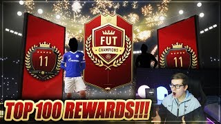 FIFA 19: PLATZ 11 DER WELT! TOP 100 FUT CHAMPIONS REWARDS 😱😱 FIFA 19 Ultimate Team Pack Opening