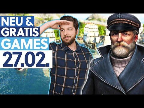 KOSTENLOS Anno 1800 & 6 weitere Spiele - Neu & Gratis-Games