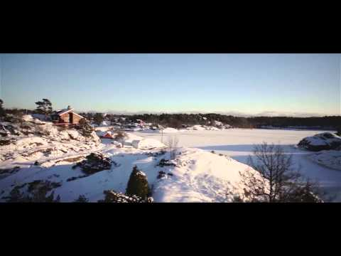 Aerial video over Norge