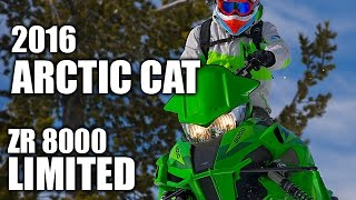 TEST RIDE: 2016 Arctic Cat ZR 8000 Limited