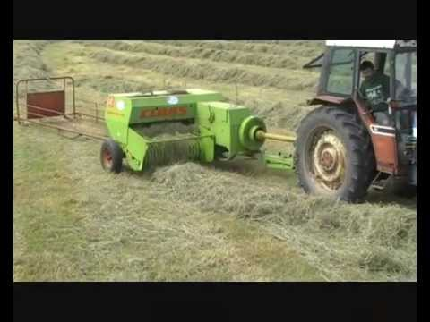Up Close and Personal - Claas Markant 50 Square Baler