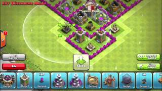 Clash of Clans-Town Hall 7 Hybrid Base Defense