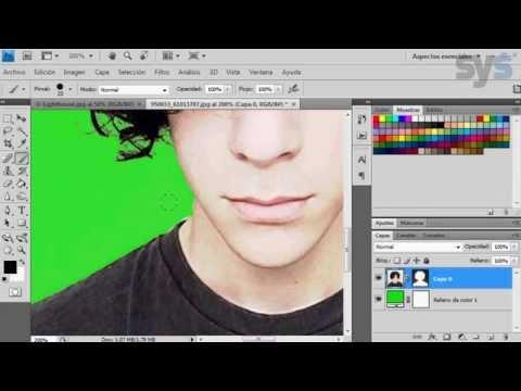 Potoshop:Recorte Cabello, Seleccion o extraer con canales de colores