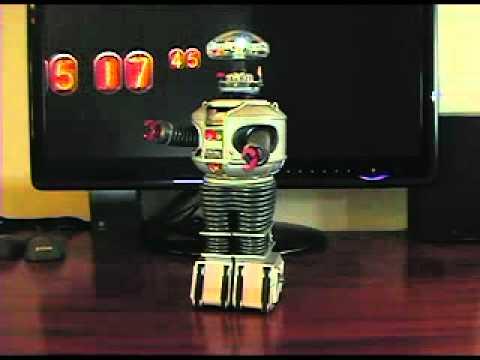 Meu robô B-9 - Algumas frases