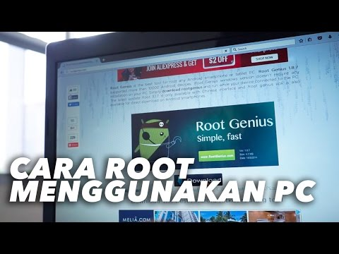 Cara Root Menggunakan PC Simple and Fast
