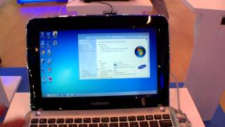 First Hands On with Samsung N100 Netbook