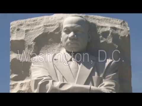 Construction of the Dr. King Memorial in Washington, D.C.