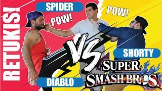 Divertidas Retukis Casuales!! +Nuevo INVITADO [Super Smash Bros. Wii U]