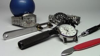 How to remove the back of a watch - Watch and Learn #22