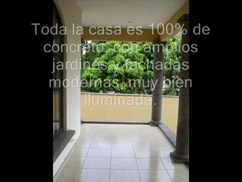 CASA DE LUJO EN BELLO HORIZONTE ESCAZU SAN JOSE LUXURY HOME FOR SALE ESCAZU COSTA RICA.wmv