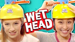 WET HEAD CHALLENGE (Squad Vlogs)