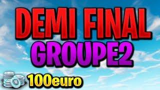 [DAY 2   Tournoi Remdan] - 2 MIN DELAY / Demi final / Groupe 2