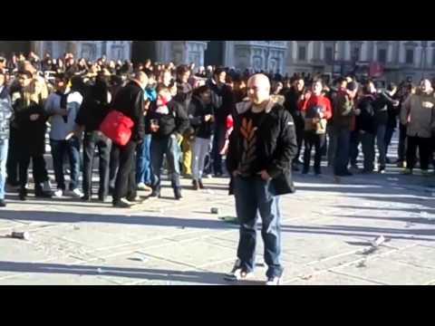 Milan Fans  &  Arsenal Fans Tribune Culture