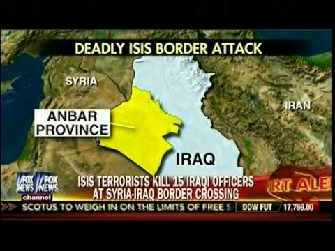 ISIS Terrorists Kill 15 Iraqi Officers At Syria-Iraq Border Crossing - America's Newsroom