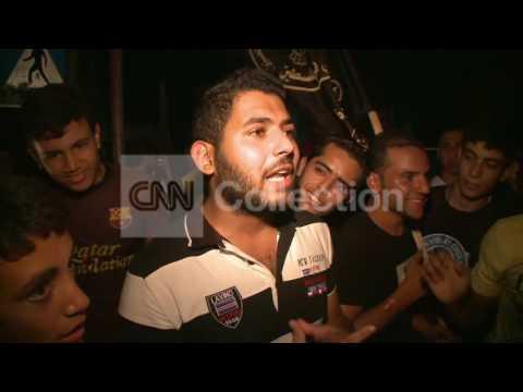 GAZA: CEASEFIRE CELEBRATIONS